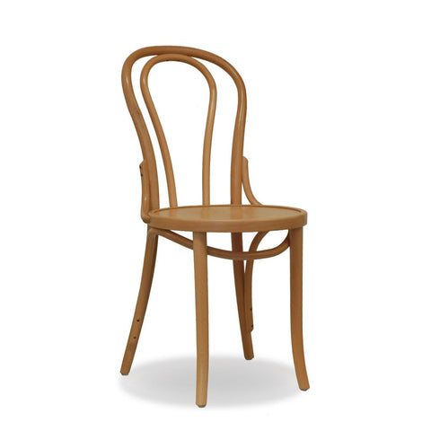 Bon Uno Bentwood Chair - Natural - Restaurant and Cafe Chair - Nufurn Commercial Furniture