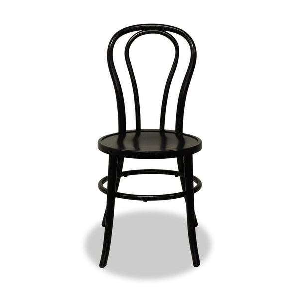 Stacking Bentwood Chair Black Bon Uno S Nufurn