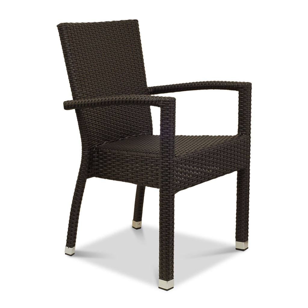 Bondi Arm Chair - Outdoor Restaurant Chair - Nufurn Commercial Furniture