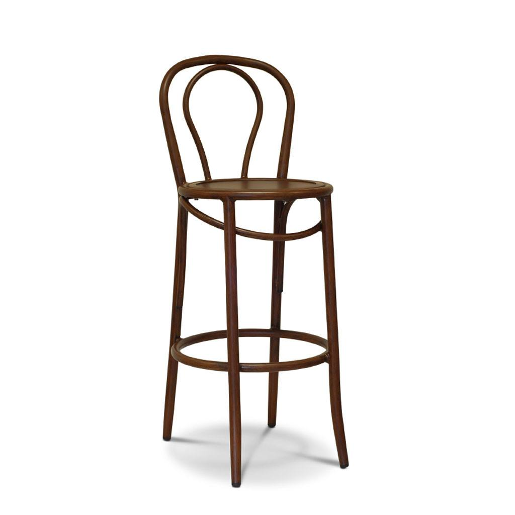 Outdoor Bentwood Bar Stool Boss Nufurn Commercial