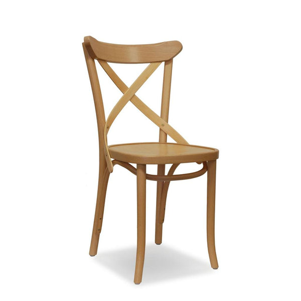 Timber Crossback Chair - Calvi