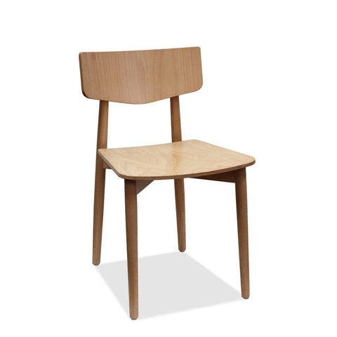 bentwood chair - capri - natural