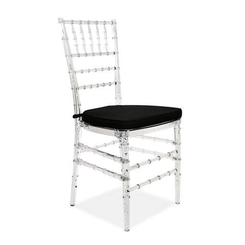 Chiavari Chair - Champagne - Polycarbonate - Nufurn Commercial Furniture