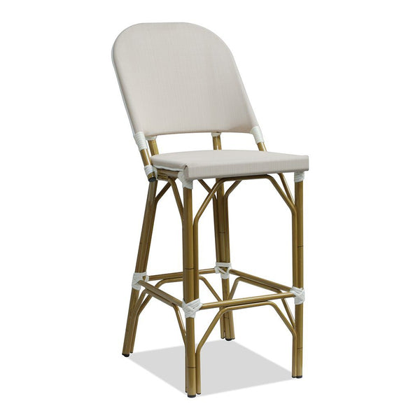Pacific Paris Style Outdoor Bar Stool