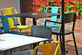 Lady Hampshire Hotel - Cafe outdoor chairs