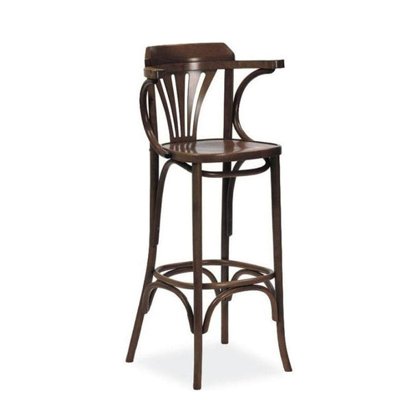 Dublin B Bentwood Arm Bar Stool