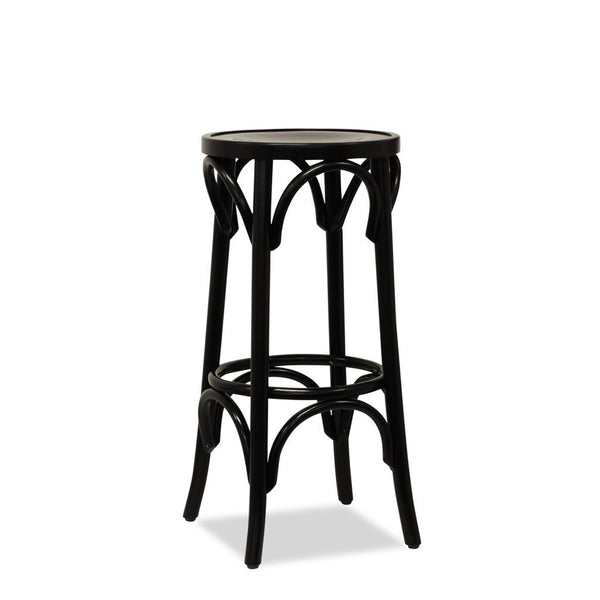 Dublin B Bentwood Bar Stool Black Nufurn Commercial