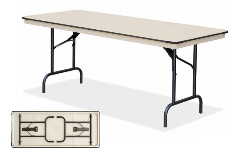 EventPro-Lite - 5ft Trestle Folding Table