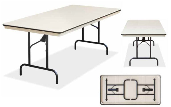 banquet trestle folding table - event pro lite extra wide