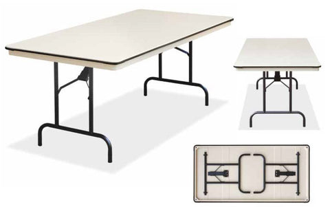 EventPro-Lite - 6ft Extra Wide Trestle Folding Table