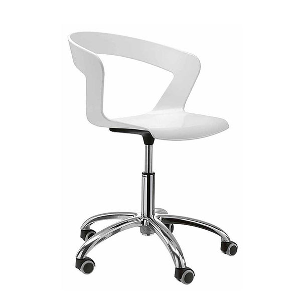 IBIS 002R 5 Way Swivel Armchair by Metalmobil