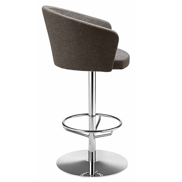 kicca swivel steel stool. commercial furniture