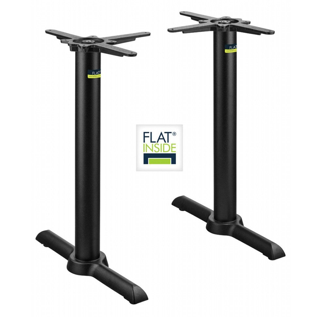 FLAT Restaurant Table Base - TWIN Kirribilli 56 - KT22