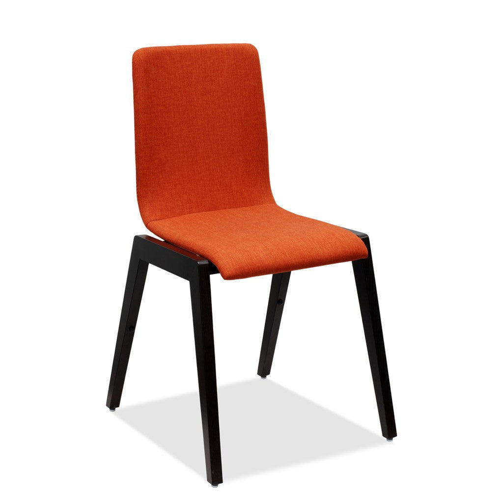Luna 107 Upholstered Chair by Metalmobil