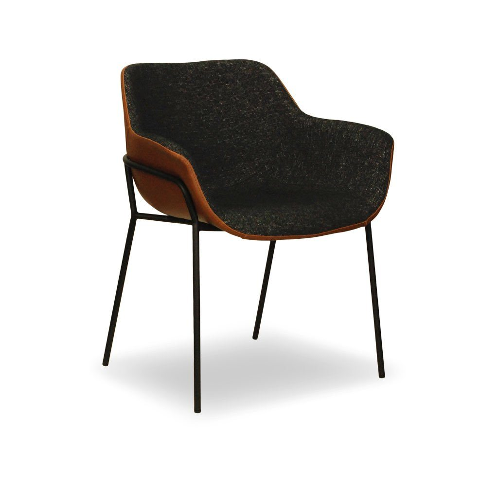 Malory Restaurant Tub Chair with Metal Legs – Nufurn Commercial ...