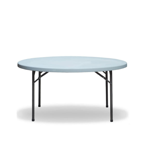 5ft round folding table - max tough