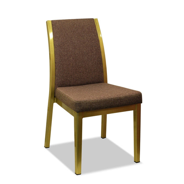 commercial restaurant clubs hotels furniture | aluminium wood look | Miami Dining Chair