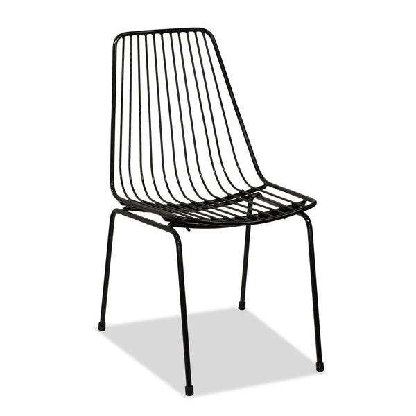 Miko Chair - Industrial Wire Cafe Chair