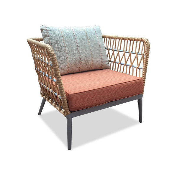 rattan outdoor weave lounge - marcoola