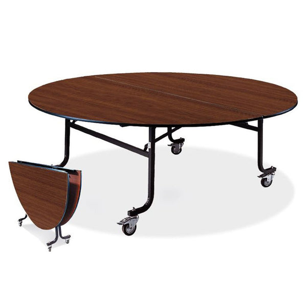 Platinum Mobile Round Folding Table