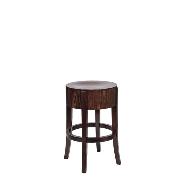 Savona Bentwood Low Bar Stool
