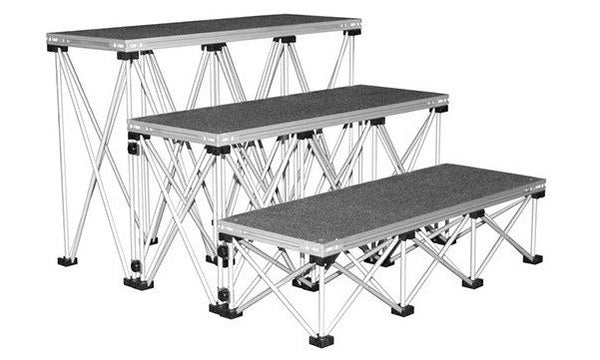Lightweight Portable Staging Step Panels Nufurn