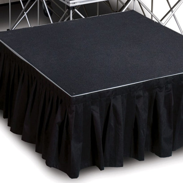 Lightweight Portable Stage Skirting
