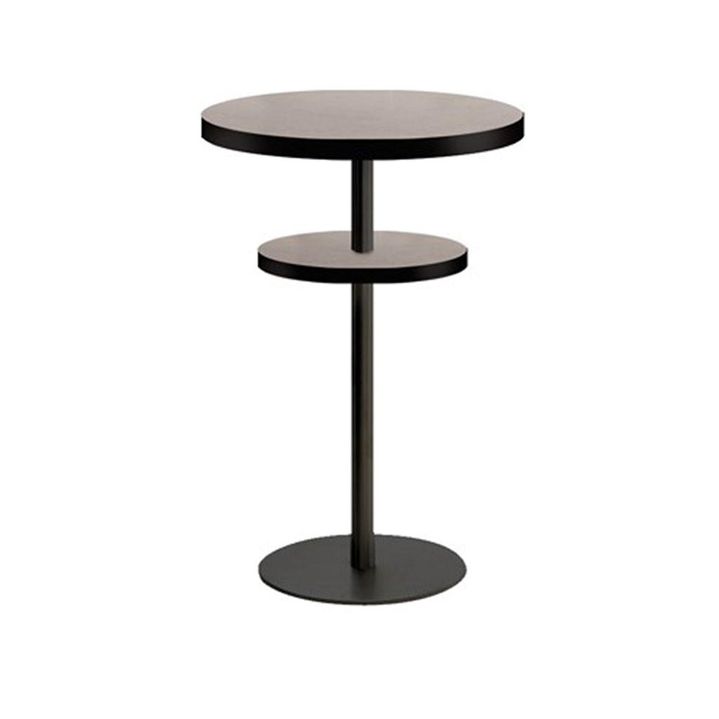 Tempo Disc 2 Tier Dry Bar Table Base - Restaurant and Cafe Furniture