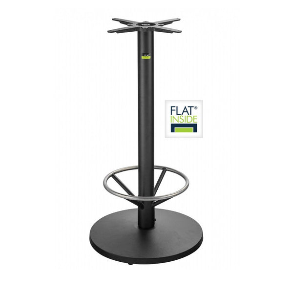 FLAT Restaurant Bar Height Table Base - Ulladulla 55 with Foot Ring