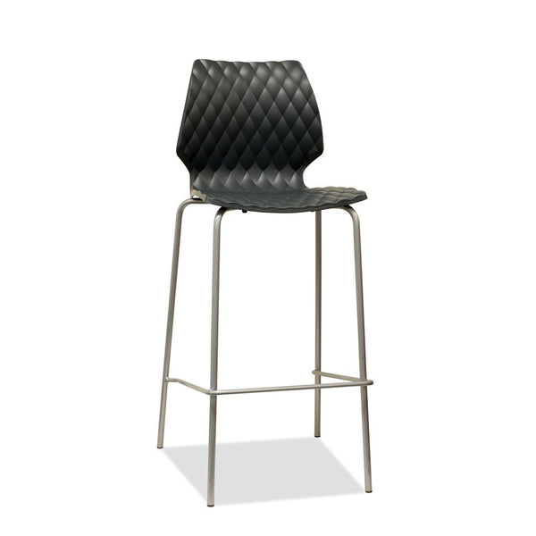 Uni Bar Stool - Anthracite