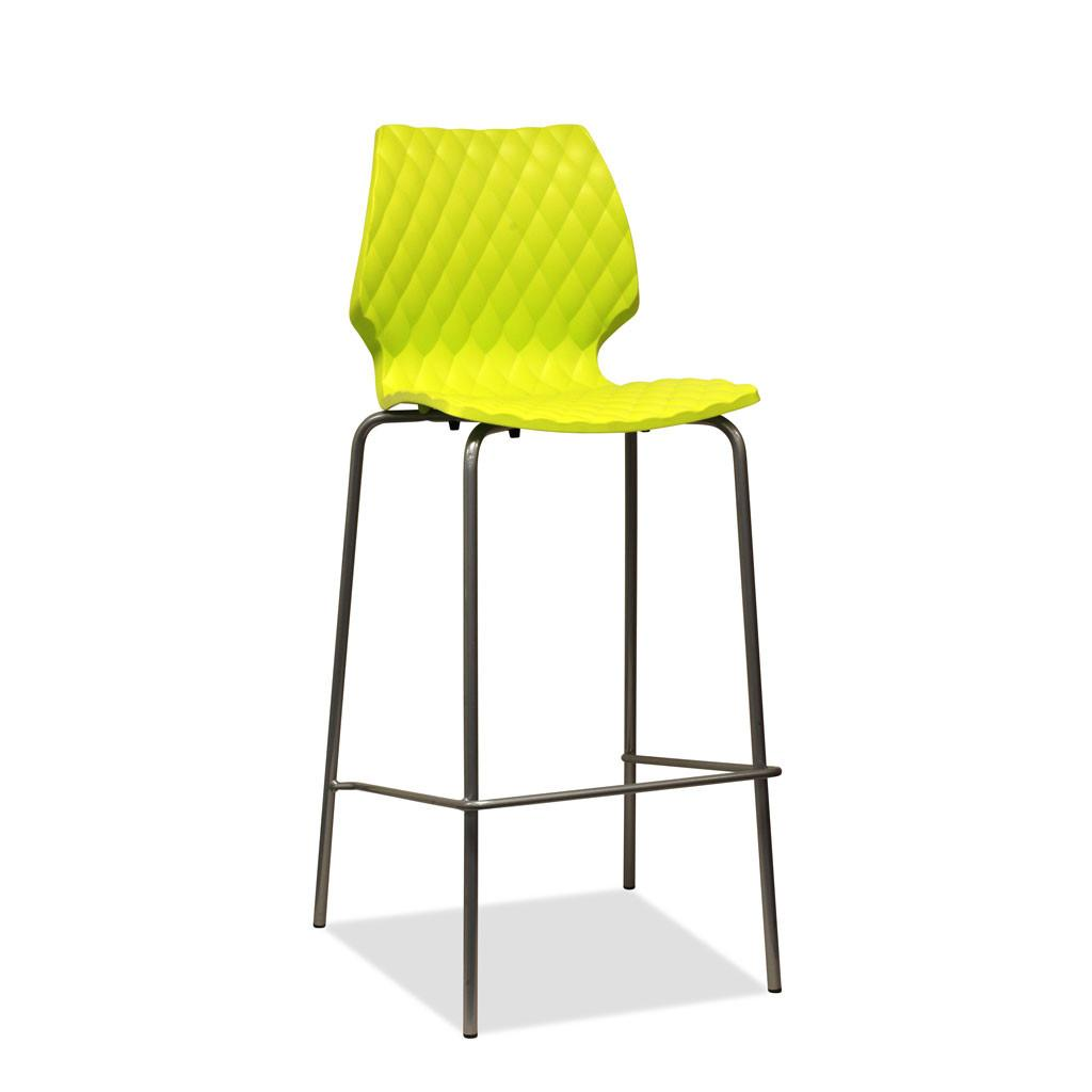 Uni Barstool by Metalmobil - Boss Green
