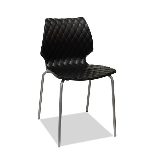 uni chair black outdoor restaurant and cafe chair