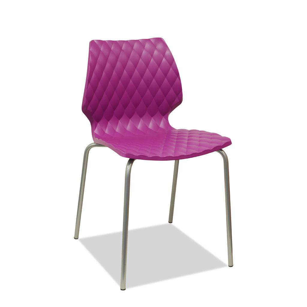 uni chair - fuschia