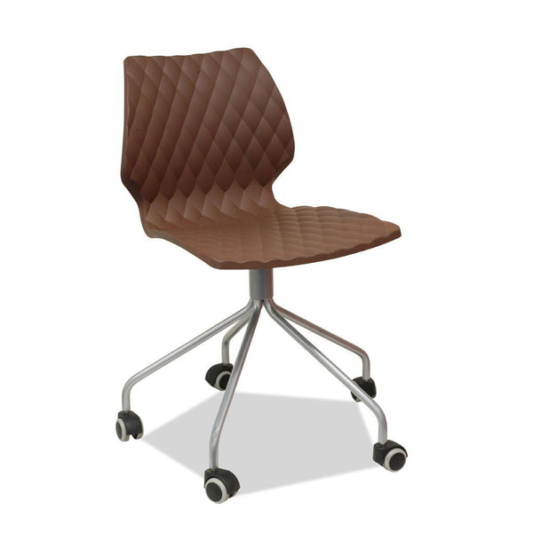 uni chair with castors  - education furniture