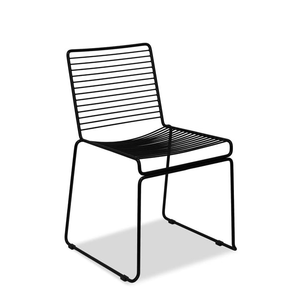Wire Cafe Chair - Voltage - Black