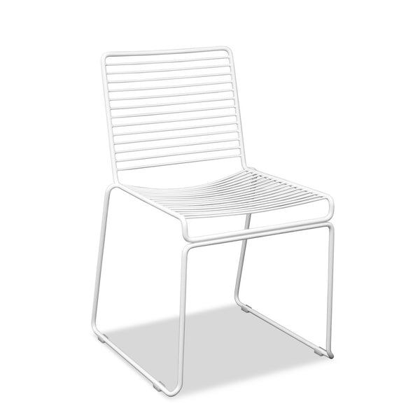 Wire Cafe Chair - Voltage - White
