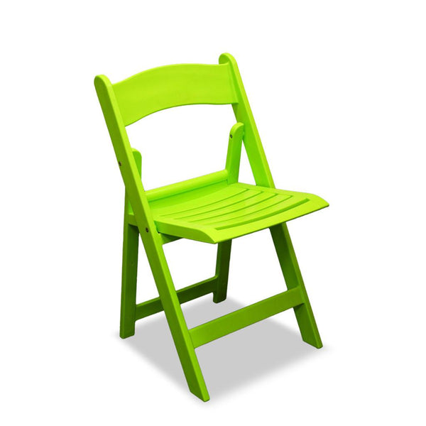 resin folding chair - nufurn wimbledon