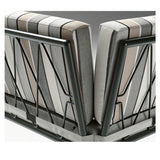 Zero Modular Outdoor Lounge By Metalmobil