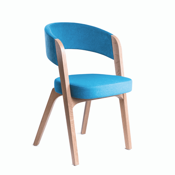 Argo stacking timber chair
