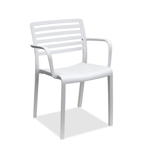 restaurant chair - lama in white