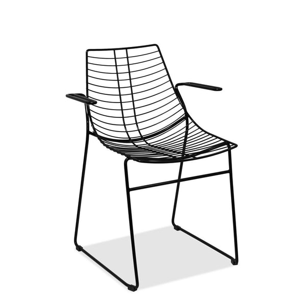 outdoor furniture - Net 097 Chair by Metalmobil