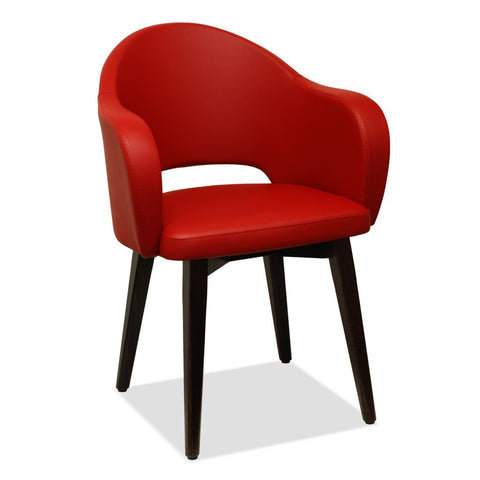 Agatha 572 by Metalmobil - Restaurant Tub Chair - Nufurn Commercial Furniture