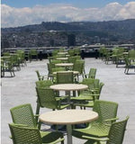 outdoor restaurant furniture - netkat by resol