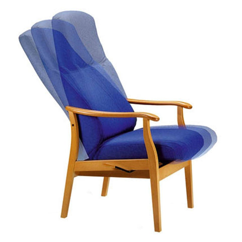 Healthcare Chairs - Relax Classic Mechanical Armchair: 16-63 1R