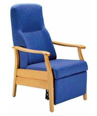 Healthcare Chair  - Relax Classic Mechanical Recliner with Foot Rest: 21-63/1 Mechanical