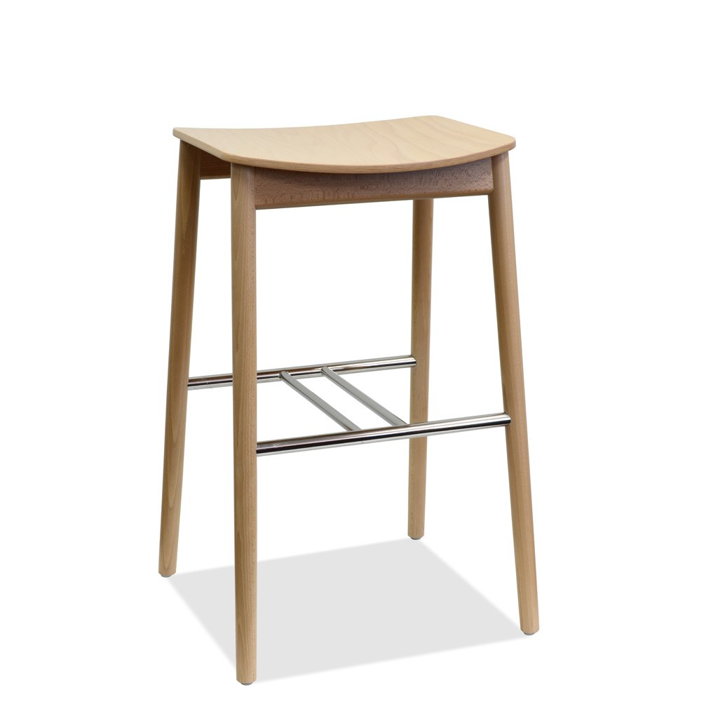 Ainslee Bon Bentwood Stool - Nufurn Commercial Furniture