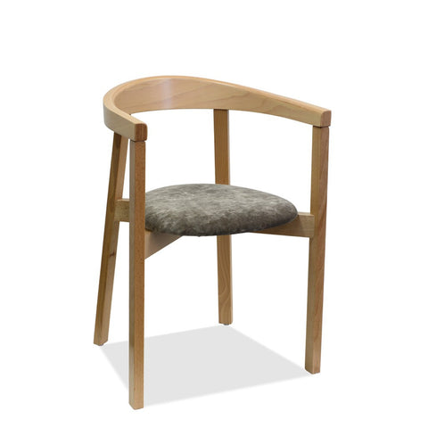 Annalisa Arm Chair - Bon Bentwood Chair - Indoor Restaurant Chair - Nufurn Commercial Furniture