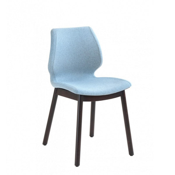 restaurant upholstered chair - uni 577m - metalmobil - nufurn