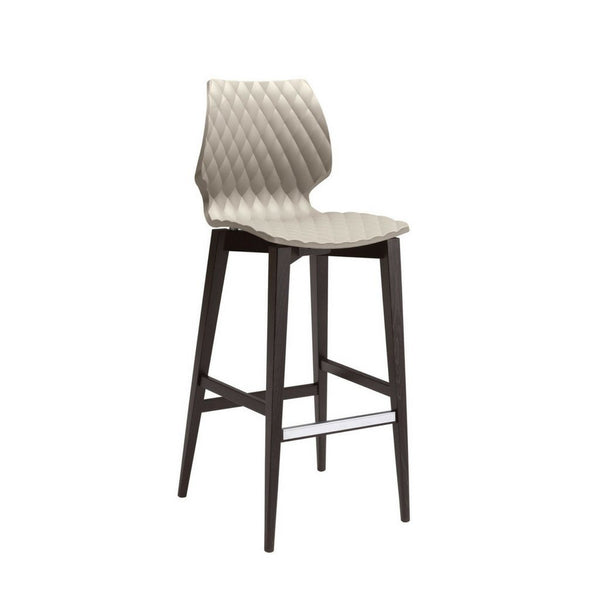 uni 386 bar stool - timber frame