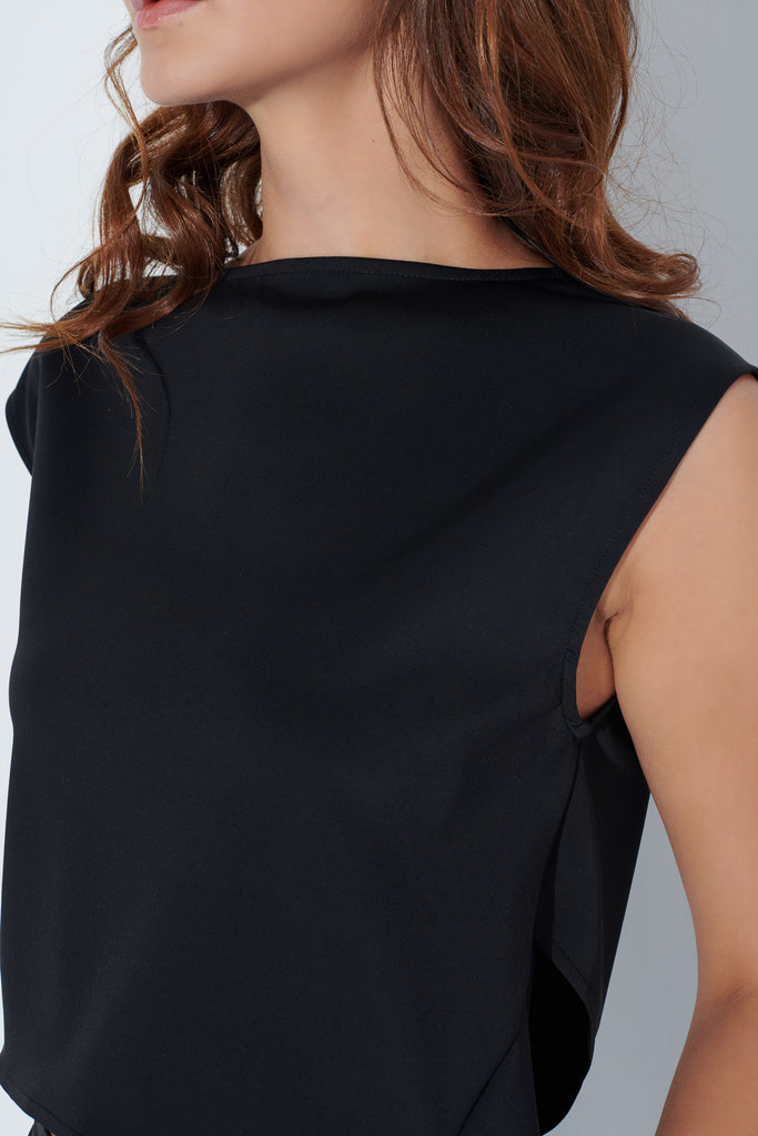 Enva Top in Black